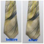 かたみネクタイの修復