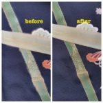 黒留袖の柄修復